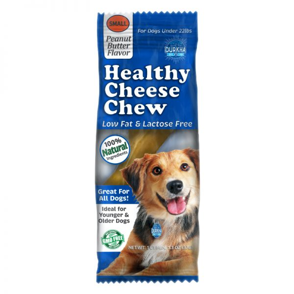 Durkha Healthy Cheese Chew - Peanut Butter - Small