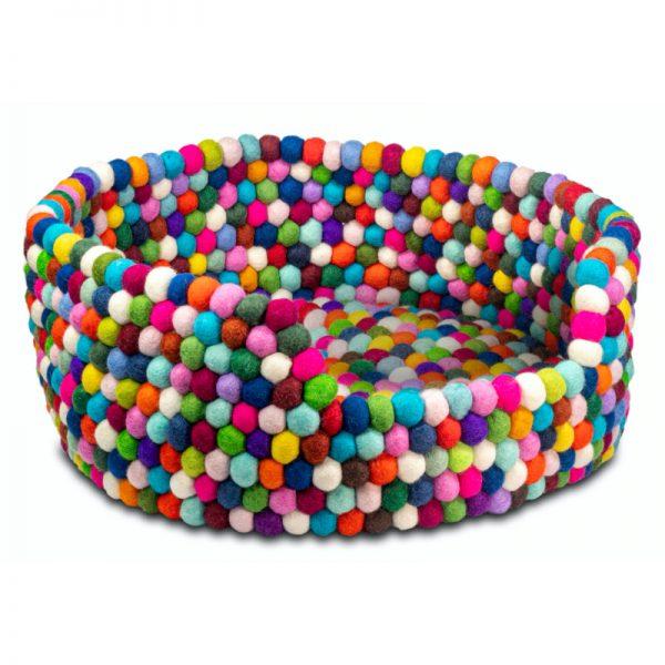 Felt Dog Bed - Color